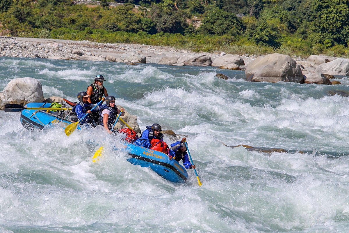 We offer Two Day Rafting Trips on the Ganga River during your Holiday