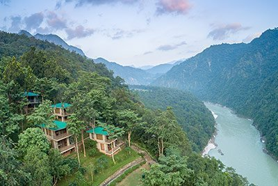 Cottages at Atali Ganga in Rishikesh