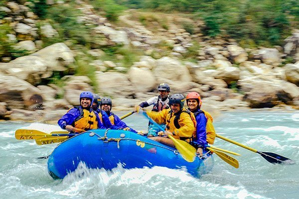 River Rafting in Rishikesh with Aquaterra Adventures