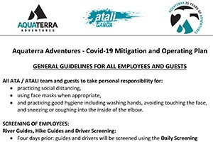 Covid-19 Mitigation and Operating Plan